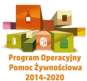 logo Programu Operacyjnego Pomoc Żywnościowa 2014-2020